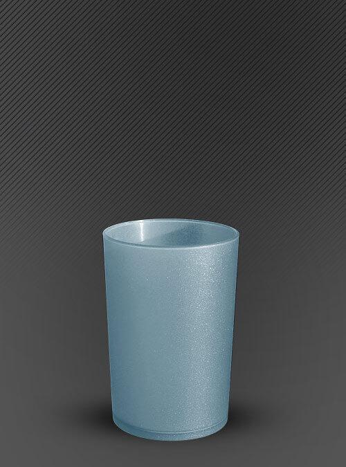 Vaso 100 ml. Azul